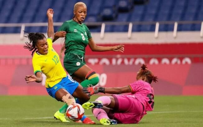 Brasil vence Zâmbia