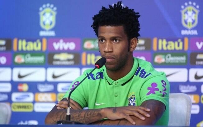 Gil acumula algumas convocações para a seleção brasileira