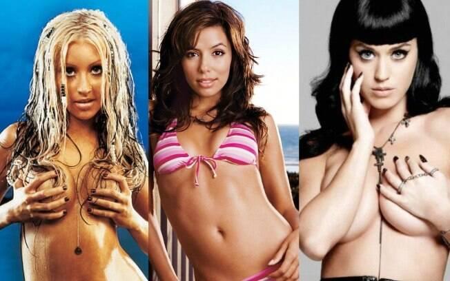 Confira as famosas que foram eleitas as mais sensuais do mundo pela revista Maxim