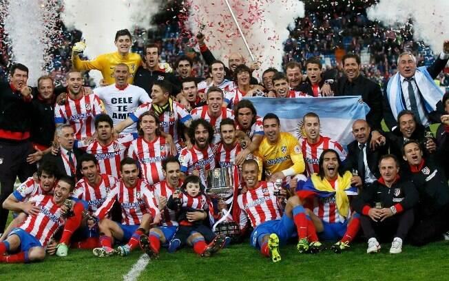 Ex-tricolor Miranda faz o gol do título do Atlético de Madri contra o Real  na Copa do Rei 475943f3a7fa7