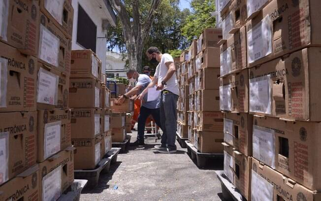 O maior número de urnas eletrônicas com mal funcionamento que precisaram ser trocadas até agora foi registrado em São Paulo