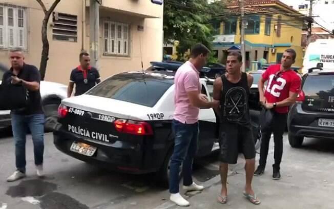 Igor Uriel Tron Pereira Lomba, de 28 anos, estava na quando foi detido por policiais