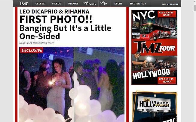 Leonardo DiCaprio e Rihanna juntos: namoro?