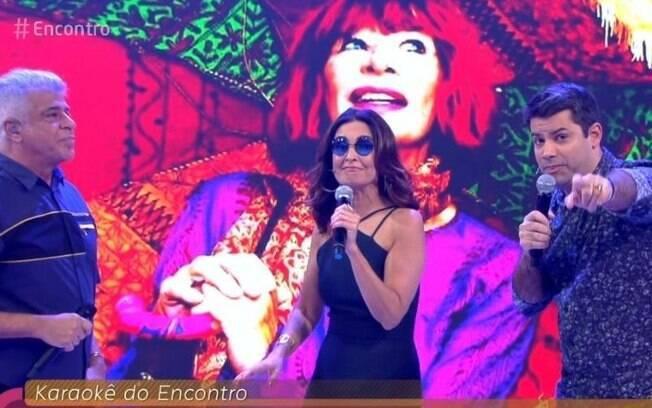 Fátima Bernardes comemora sucesso do