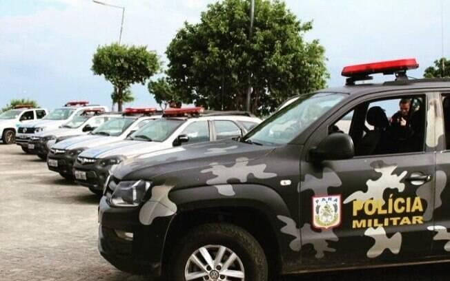 Viatura da Polícia Militar do Pará