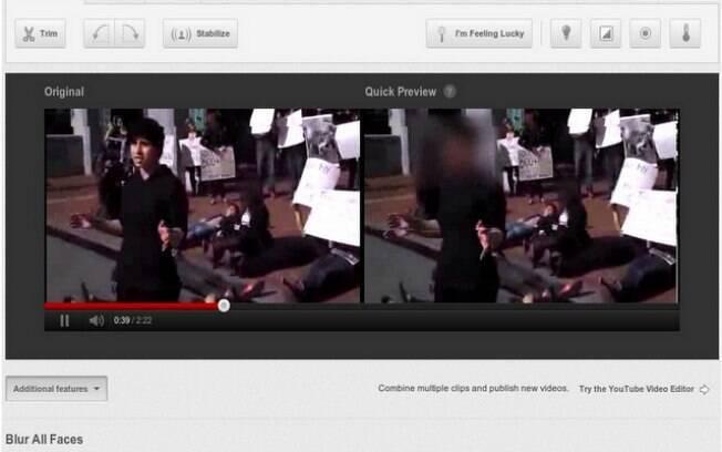 YouTube agora permite borrar rosto de pessoas para manter anonimato em vídeos