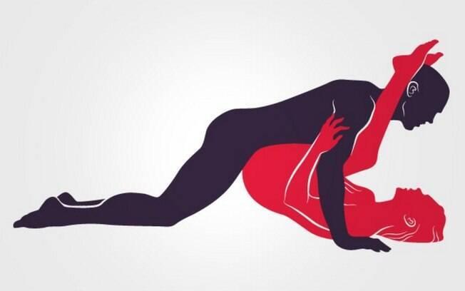 GARANHÃO PROFUNDO: Nesta posição, ela levanta as pernas e o quadril, e ele vem por cima penetrando fundo