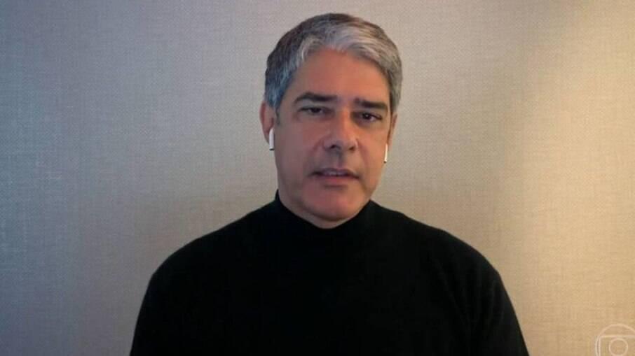 William Bonner, apresentador do