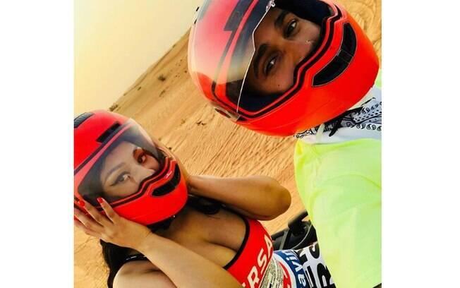 Nicki Minaj e Lewis Hamilton