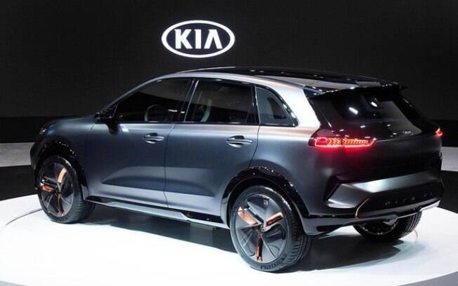 Niro EV: a Kia dispensou Detroit para apresentar seu novo conceito no CES 2018. Para o Salão, apenas a nova geração do Cerato