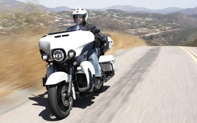 Harley-Davidson branca