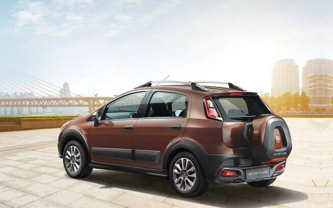 Fiat Avventura é a versão off-road do nosso antigo Punto, exclusiva para o mercado indiano
