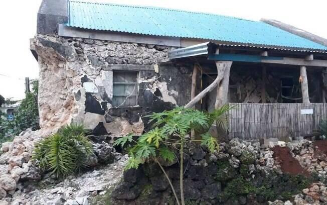 Terremotos nas Filipinas
