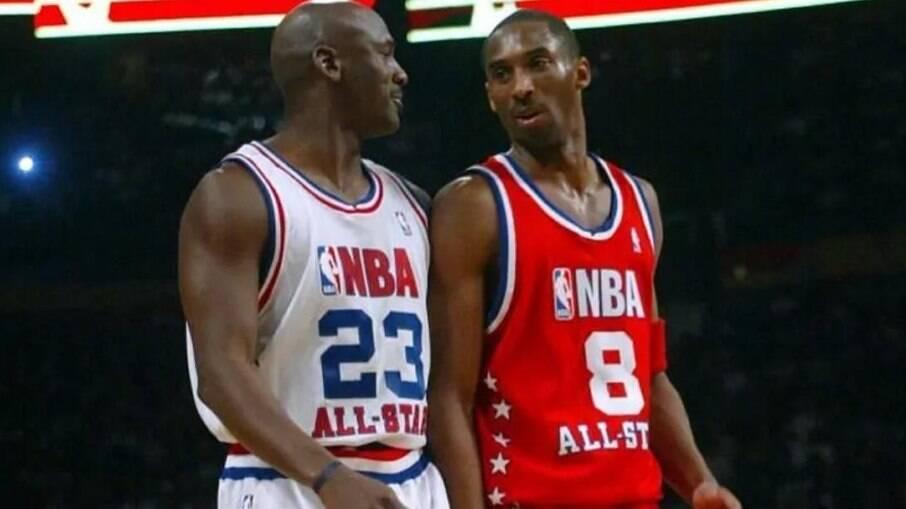 Michael Jordan mostra última troca de mensagens com Kobe Bryant