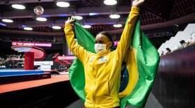 Rebeca Andrade leva duas medalhas no Mundial