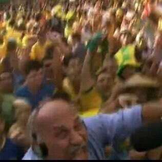 Márcio Canuto: queda no Fifa Fan Fest