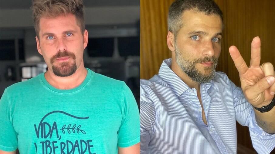 Thiago Gagliasso relembra briga com o irmão, Bruno Gagliasso