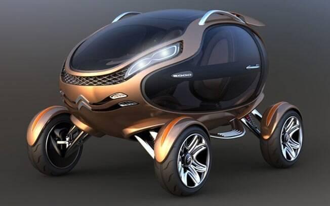 Na forma de um ovo, o conceito Citroën Eggo foi concebido de forma a enfrentar qualquer tipo de terreno.