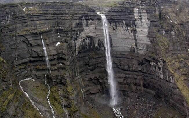 O salto del nervión é a cachoeira mais alta da Península ibérica