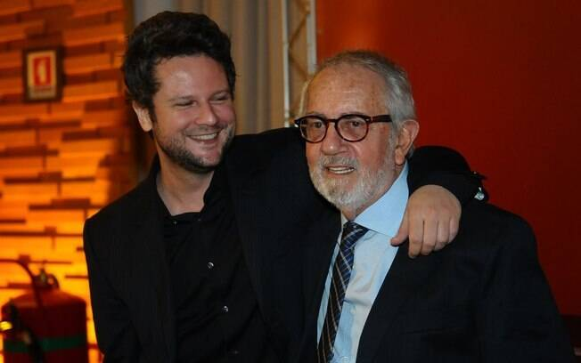 Paulo José e Selton Mello trabalham juntos no filme