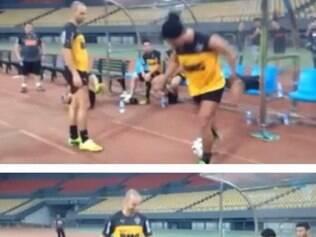 Ronaldinho dá