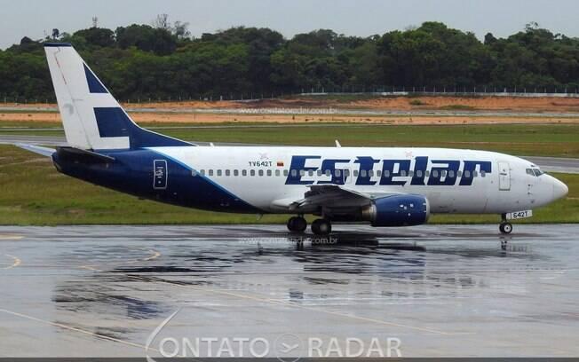 Venezuelana Aerolíneas Estelar realiza operação pontual no Brasil