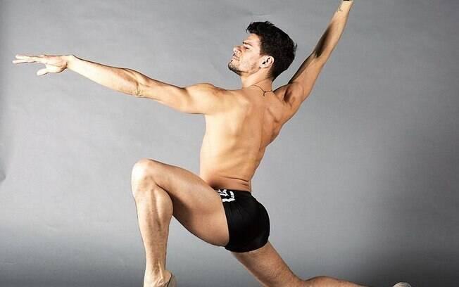 Thiago Soares na preparação para 'Roots'