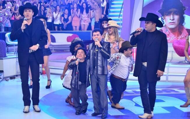 Rodrigo Faro divide o palco com Rio Negro & Solimões