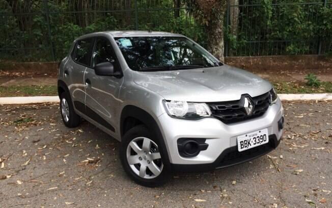 Renault Kwid tem tido vendas mornas e ficou atrás dos dois principais rivais em novembro, o Fiat Mobi e o VW Up!