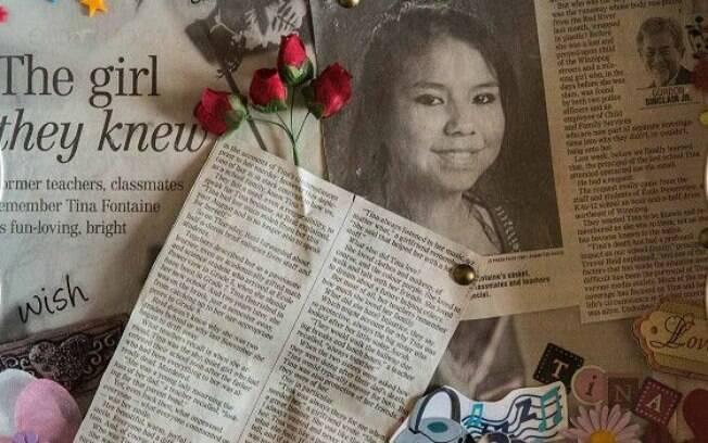 O caso de Tina ganhou as manchetes dos jornais e chamou a atenção para o problema