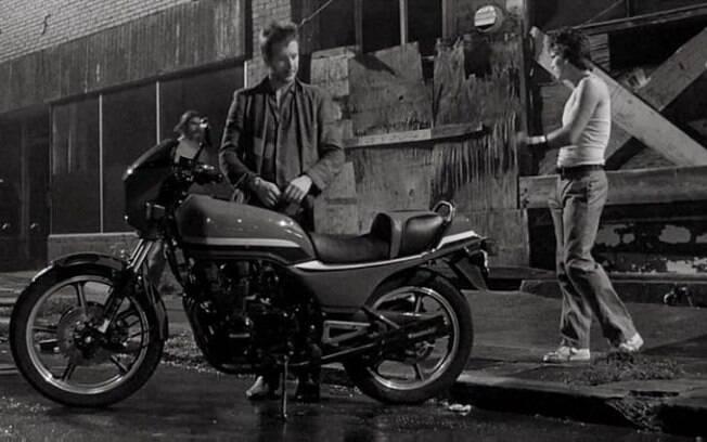 """Em """"O Selvagem da Motocicleta"""", Mickey Rourke desfila com uma Kawasaki GPz 550"""