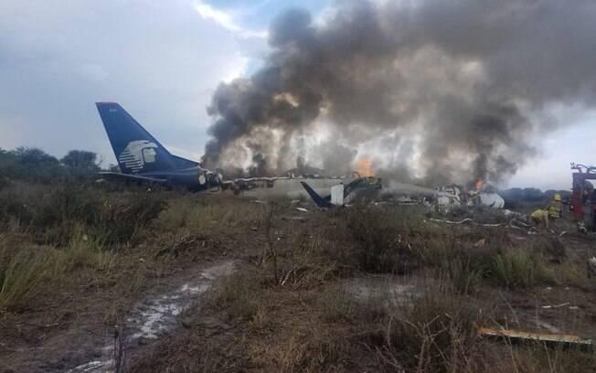 Acidente no México foi provocado por uma rajada de vento que causou uma descida repentina do avião