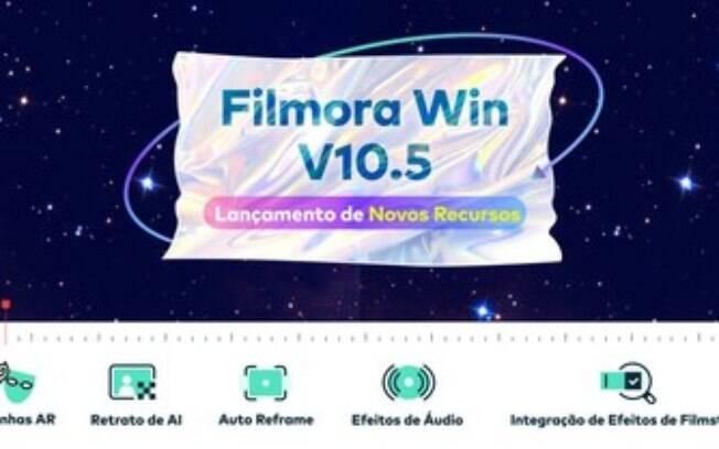 O Wondershare Filmora V10.5 Eleva o Nível da Edição de Vídeos Criativa