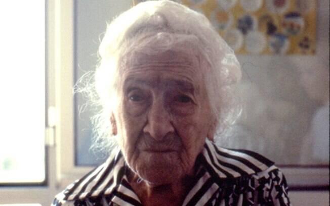 Jeanne Calment se tornou a pessoa mais velha do mundo – ela tinha ao menos 122 anos quando morreu, em 1997