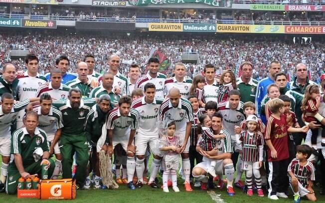 Fluminense foi campeão em 2012 do Brasileirão