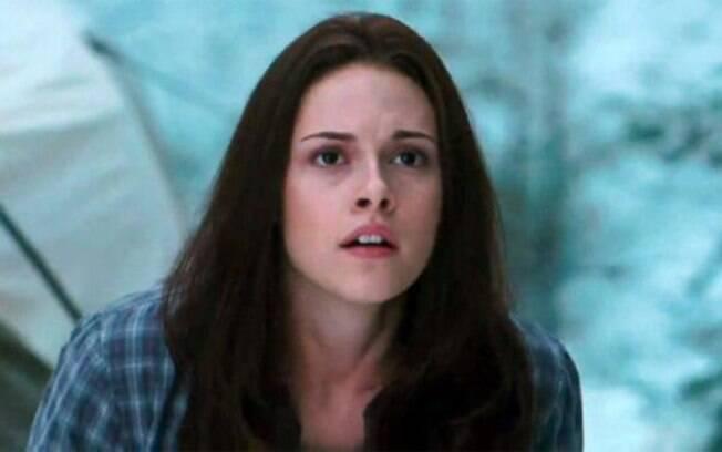 Kristen usa peruca no terceiro filme da saga