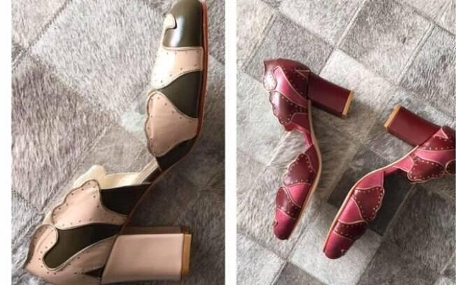 Linha de sapatos exclusiva de Priscilla Whitaker