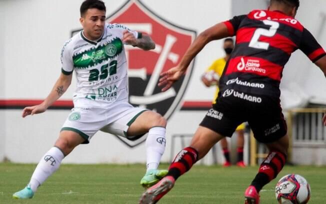 Guarani perde jogo contra o Vitória