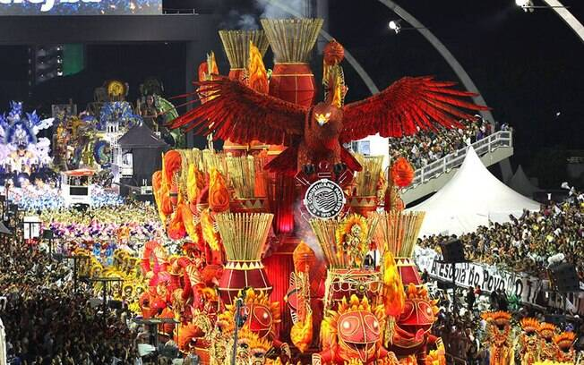 Desfile da Gaviões da Fiel