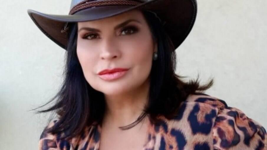 Solange Gomes elogiou Nego do Borel