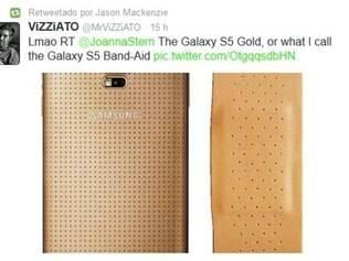 No lançamento do 'Galaxy S5', presidente da empresa taiwanesa aproveitou para alfinetar a concorrente