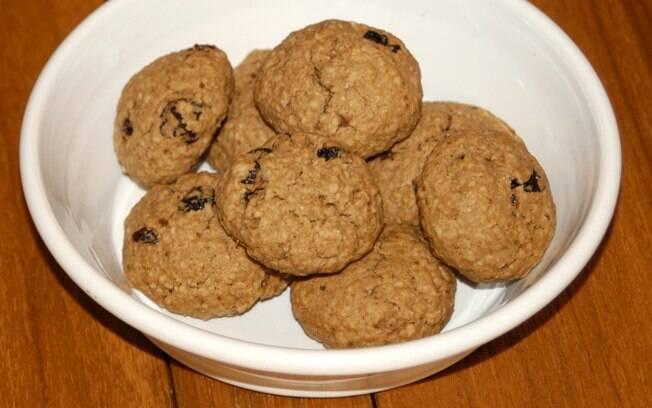 Foto da receita Cookies pronta.