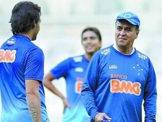 Atenção. Técnico Marcelo Oliveira e jogadores estão cientes da chance de ouro, mas estão concentrados para não dar brecha ao azar