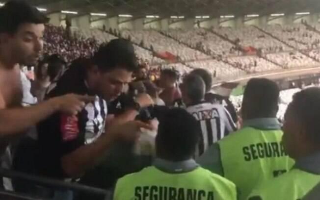 Segurança do Mineirão sofreu ofensas racistas