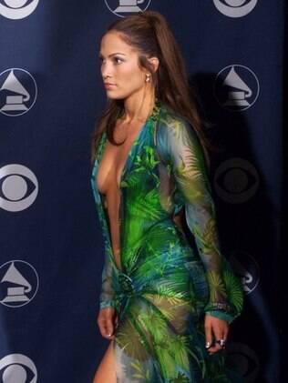 Vestido usado por Jennifer Lopez no Grammy motivou o Google a criar a busca por imagens