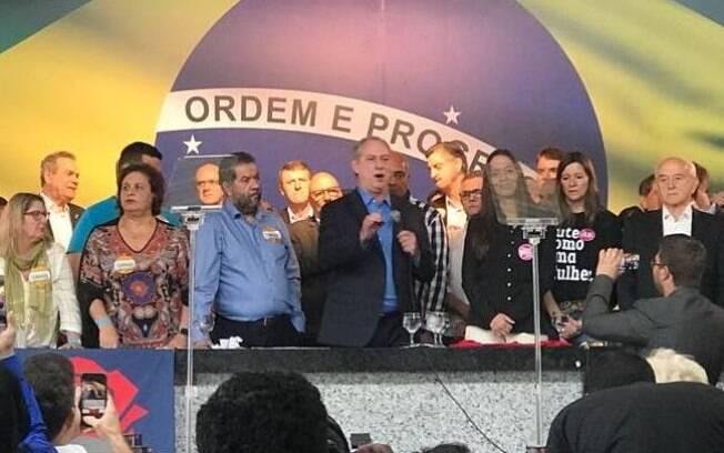Candidatos à Presidência: Ciro Gomes, após ser oficializado pelo PDT, negou possibilidade de ser vice de Lula
