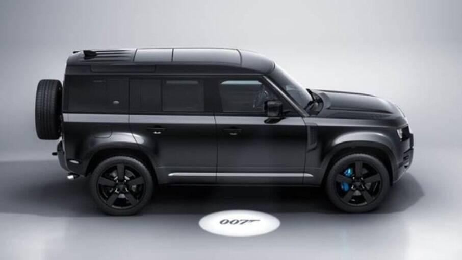 Land Rover Defender V8 Bond Edition terá apenas 300 unidades fabricadas com uma série de itens exclusivos
