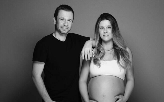 Tiago Leifert fala do quanto chorou no nascimento da filha