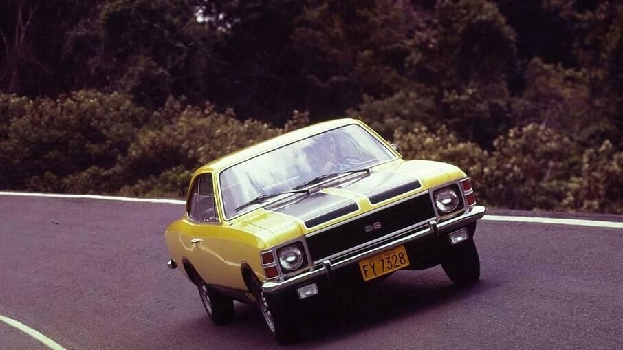 Versão esportiva SS do Opala veio em 1971 junto com a chegada do motor de 4.1 litros e cilindrada e seis cilindros