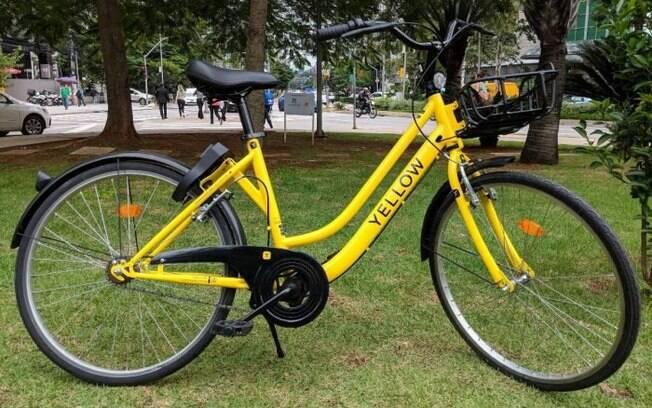 Bikes amarelas poderão ser vistas circulando, em breve, pelo centro expandido de São Paulo.